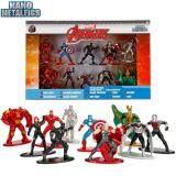 Nano Metalfigs Marvel Avengers 10-Pack Iron Man Hulkbuster Captain America Widow
