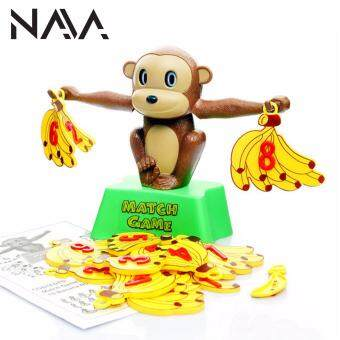 Harga NaVa Children Monkey Balance Banana Mathematical Fun MontessoriFamily Game