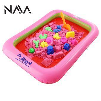 NaVa DIY 2kg Kinetic Space Playing Colors Sand with Air Pump