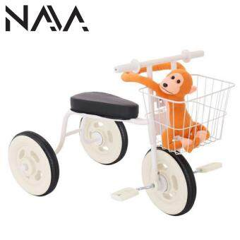 Harga NaVa Muji Japanese Minimalist Children Tricycle with Storage Basket (WHITE PURPLISH)