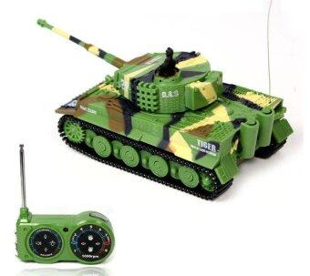 New Promotion! 1:72 Classic R/C Radio Remote Control Tiger RC Tank