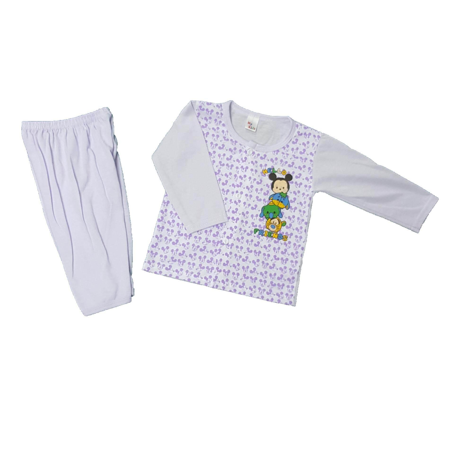 NewBorn & Baby 3 SET Pajamas -001 (Fit to Age: 6-18Mth Mass:8-12kg Height:69-80CM)