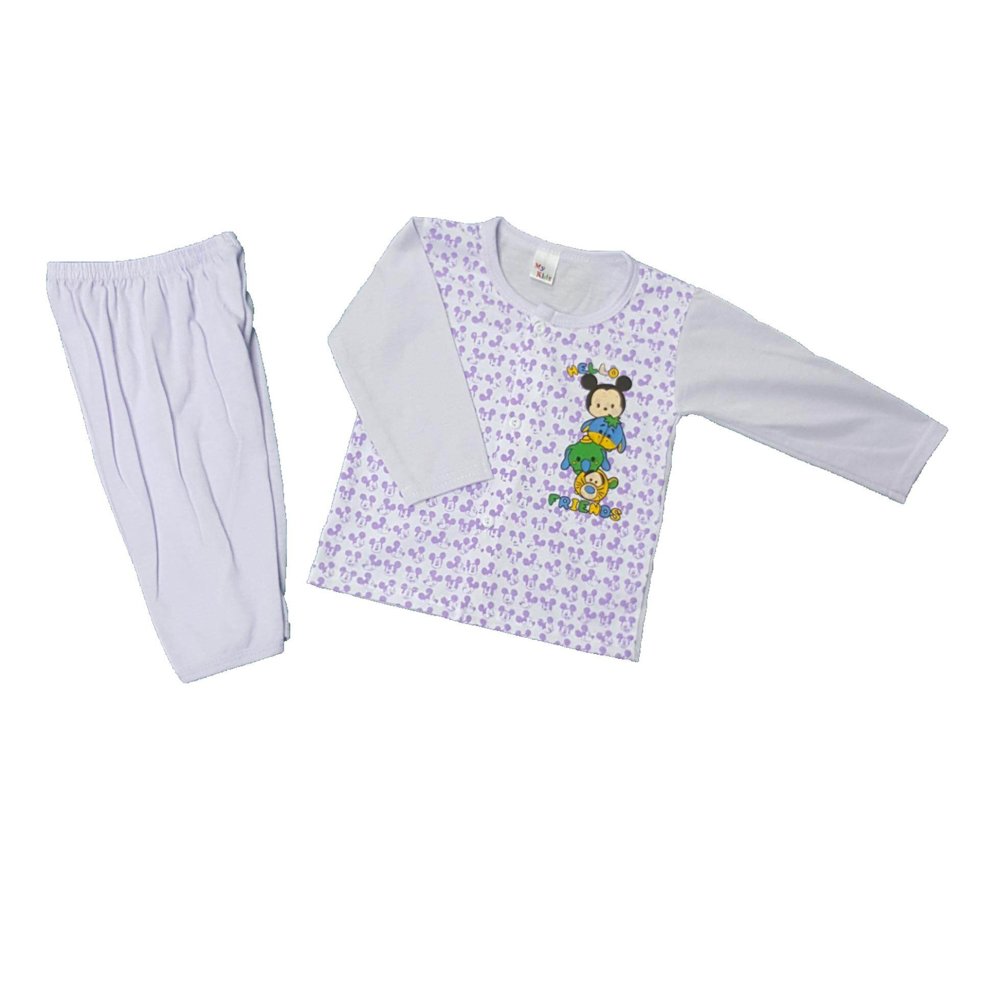 NewBorn & Baby 3 SET Pajamas -001 (Fit to Age: 6-18Mth Mass:8-12kg Height:69-80CM)