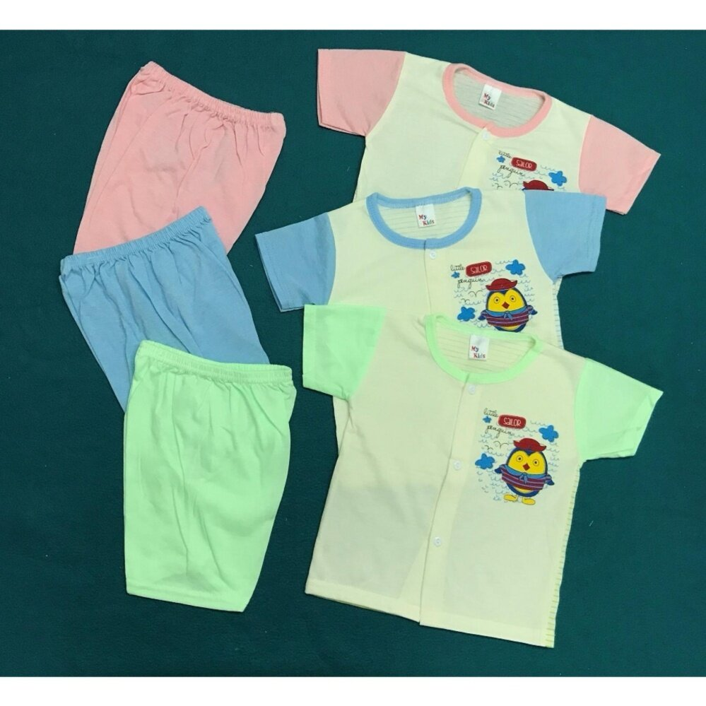 NewBorn & Infant 3 SET Casual wear Bundle sales !!(Fit to Age: 6-18Mth Mass:8-12kg Height:69-80CM)