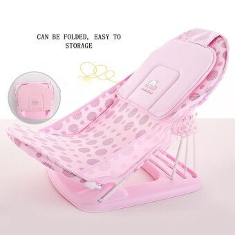 Newborn Baby Bath Chair Bathing Tubs & Seats Bed FoldedMulti-function Bath Rack