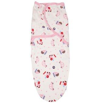 Harga Newborn Baby Swaddling Sleep Bag Organic Cotton Infant Parisarc DC08