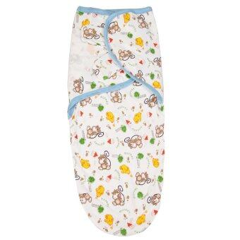 Harga Newborn Baby Swaddling Sleep Bag Organic Cotton Infant ParisarcDC09