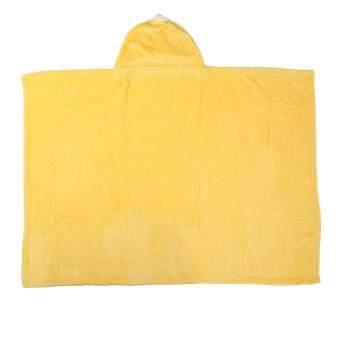 niceEshop 3D Duck Baby Infant Newborn Hooded Bath Towel Blankets - 3