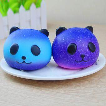 """Discount """"niceEshop Squishy Squeeze Toy, Slow Rising Animal Head Squishy Toy Bread Decompression Starry"""