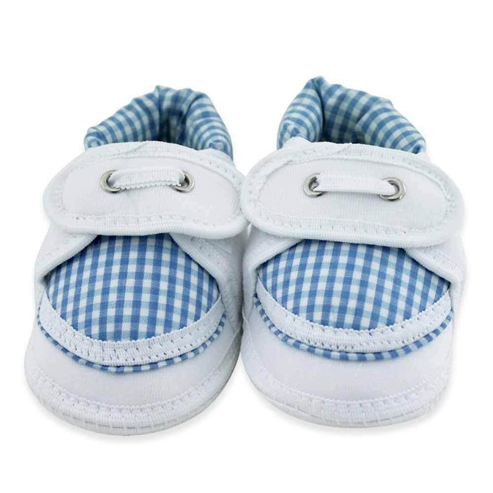OKBB Baby Boy Shoes Blue