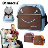 (RAYA 2019) OMachi 2 in 1 Portable Baby Booster Seat and Mummy Carrying Storage Bag - Blue