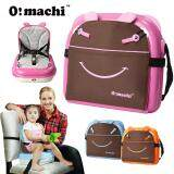(RAYA 2019) OMachi 2 in 1 Portable Baby Booster Seat and Mummy Carrying Storage Bag - Pink