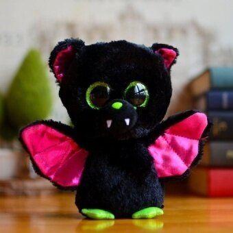 Original Ty Collection Beanie Boos Kids Plush Toys IGOR Bat Big Green Eyes Christmas Gift Kawaii Cute Soft Stuffed Animals Dolls - intl
