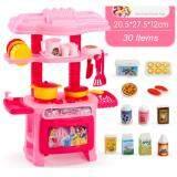 OSUKI Mini Kitchen Fun Playset With Full Utensils Set