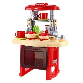 Sell palight kids kitchen cooking pretend role play toy for Kitchen set lazada