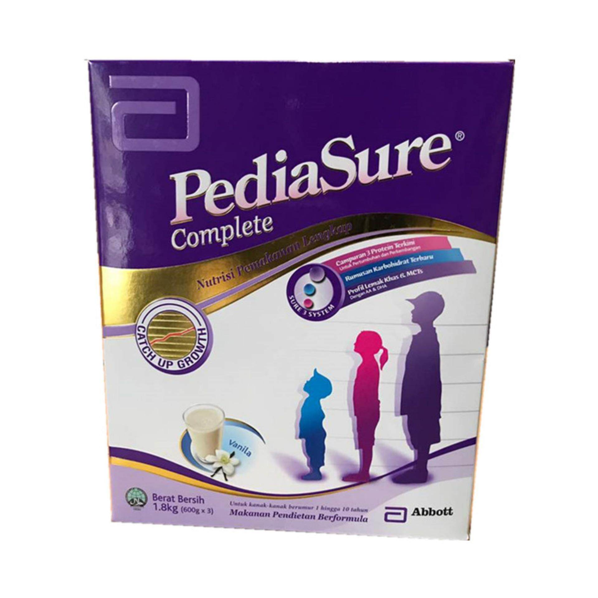 PEDIASURE COMPLETE 1.8KG VANILLA (New Packing)