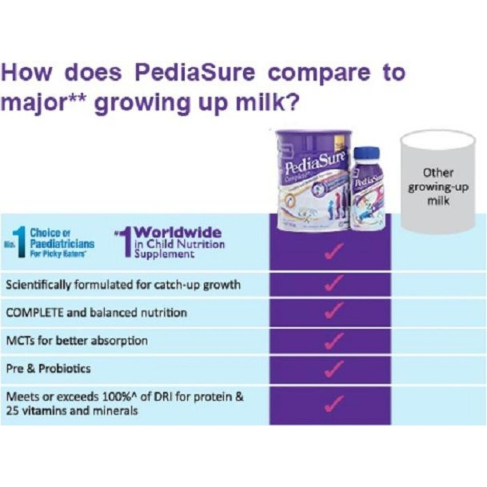 PEDIASURE COMPLETE 1.8KG X 2BOXES VANILLA (New Packing)