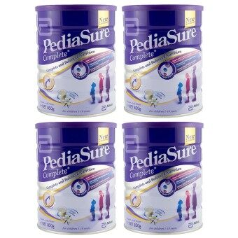 Pediasure Complete Vanilla 850g x 4 (expired 2018)