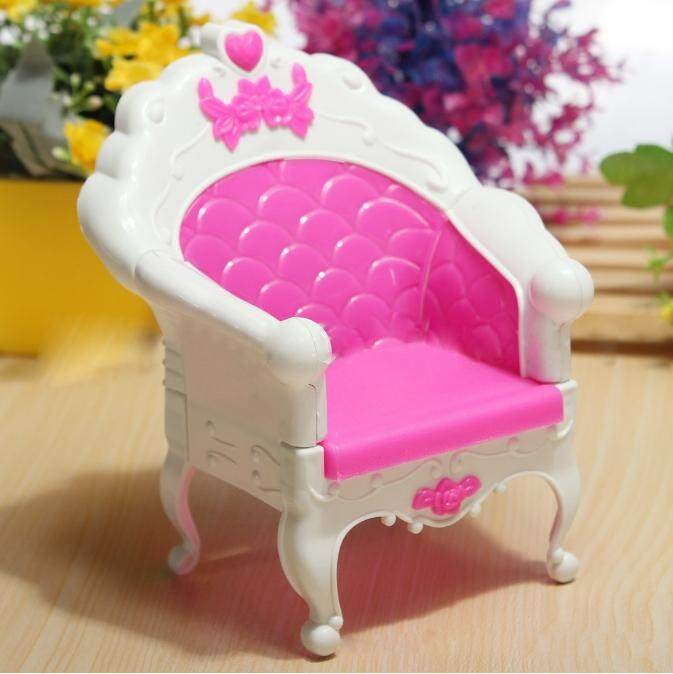 PEDUSA Fashion Mini Dollhouse Furniture Living Room Set Chair for Barbies Doll Bedroom Furniture Dollhouse - intl