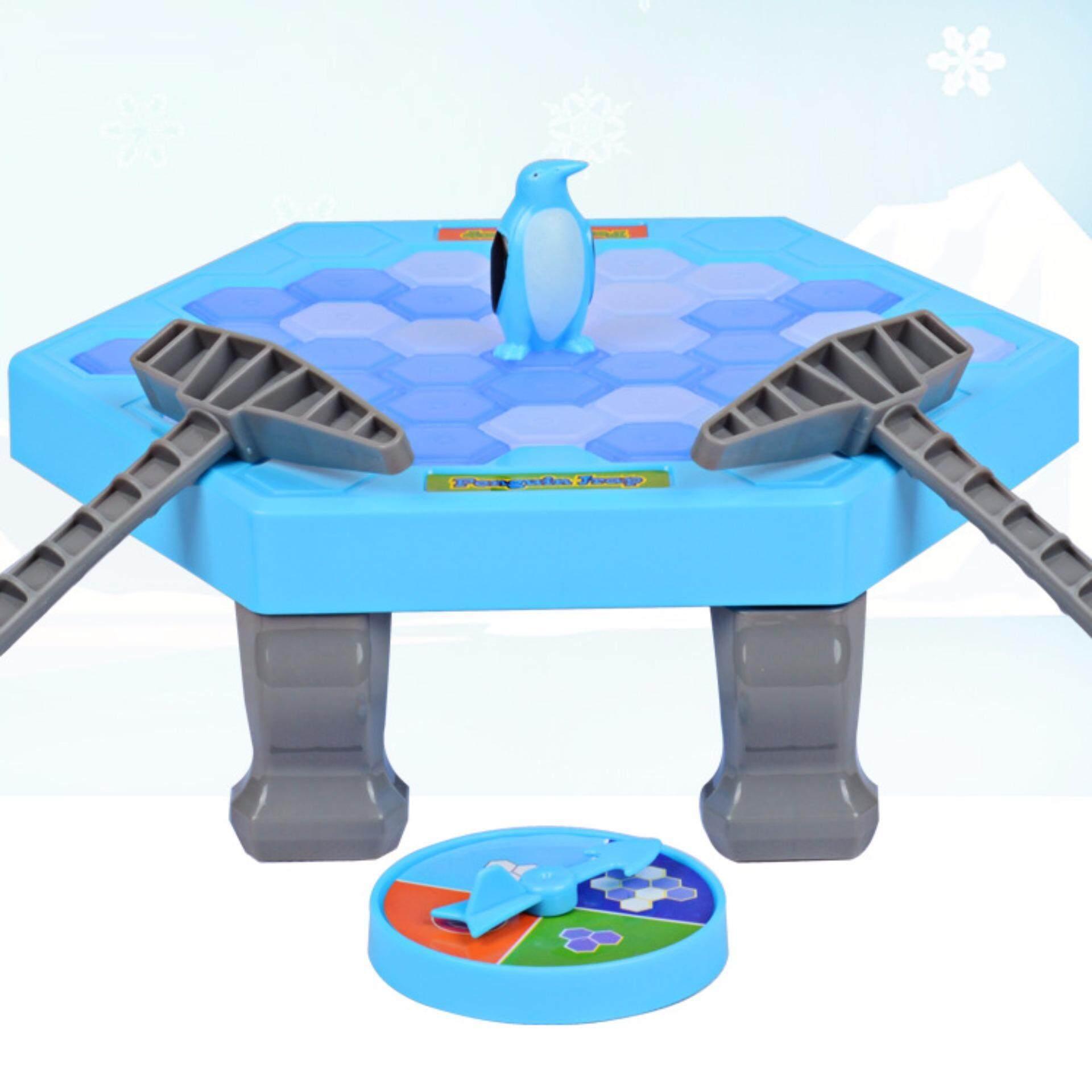 Penguin Ice Breaking Family Funny Desktop Game Kid Toy