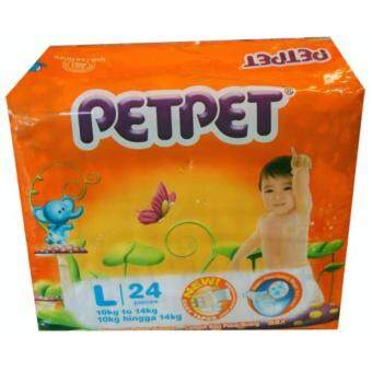 Harga PetPet Disposal Baby Diapers More Absorbency
