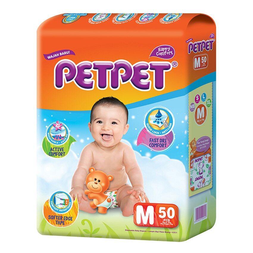 PETPET Tape Diaper Jumbo Packs M50