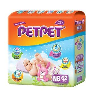 PETPET Tape Diaper Jumbo Packs NB62