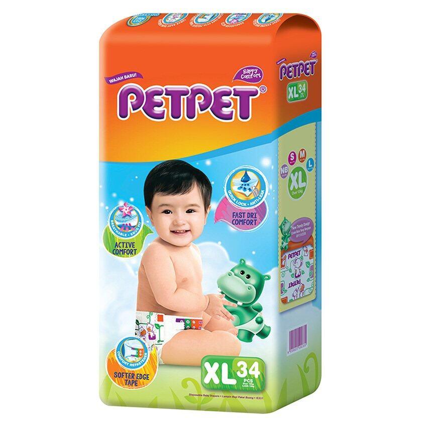 PETPET Tape Diaper Jumbo Packs XL34