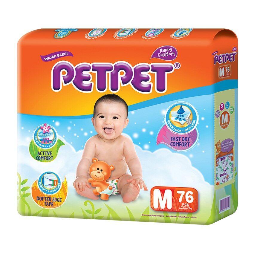 PETPET Tape Diaper Mega Packs M76