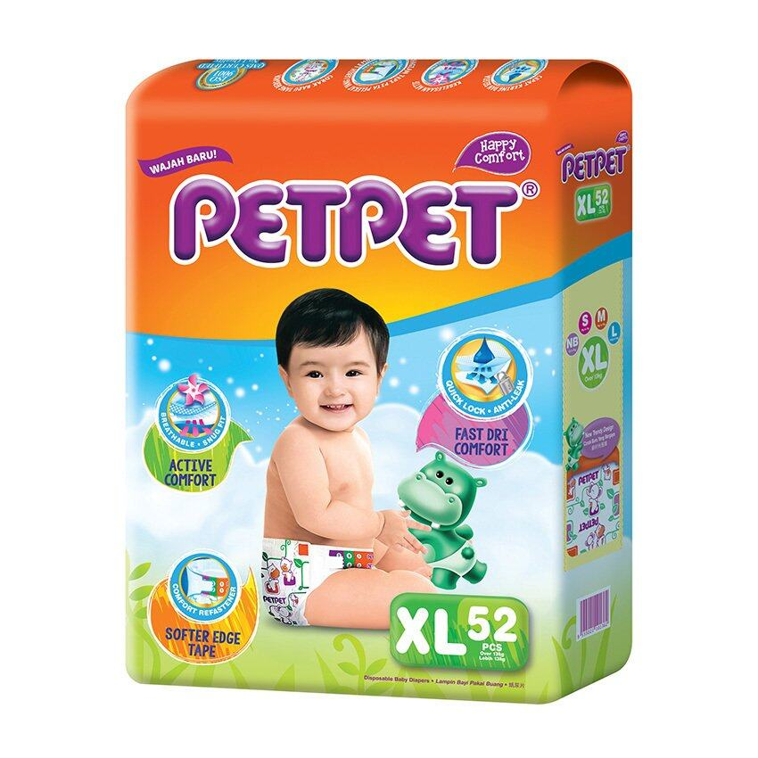 PETPET Tape Diaper Mega Packs XL52