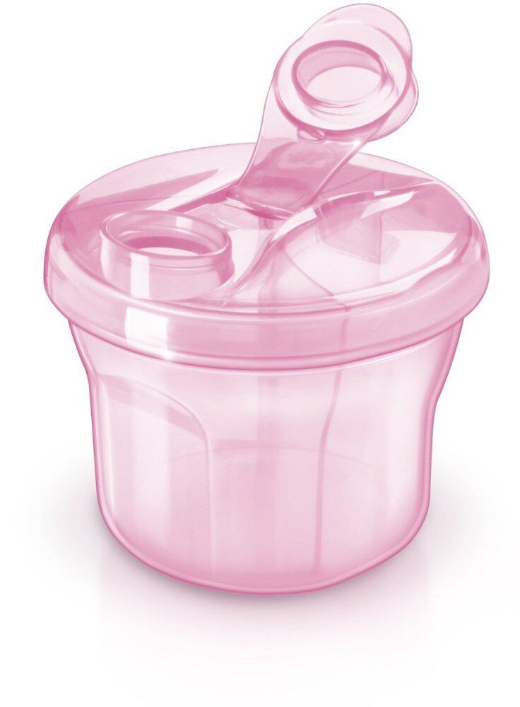 Philips Avent Milk Powder Formula Dispenser and Snack Cup Pink