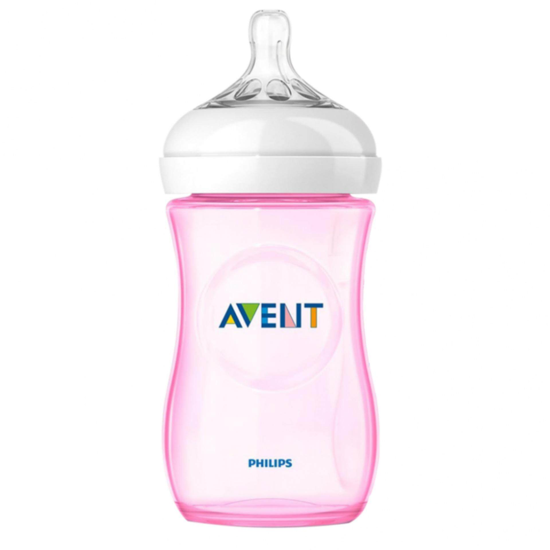 Philips Avent Natural 260ml (9oz) Special Edition Pink (Loos...