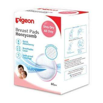 Pigeon: Honeycomb Disposable Breast Pads - 60pcs