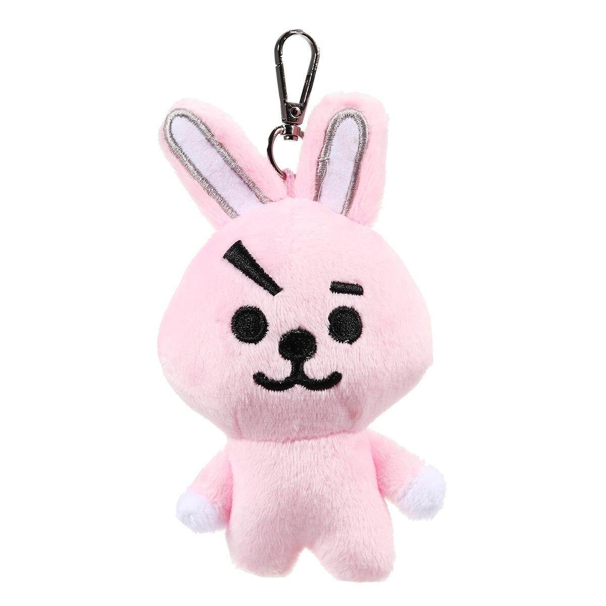 Plush Keychain Key Ring Doll Toy For KPOP BTS BT21 CHIMMY COOKY MANG KOYA SHOOKY - intl