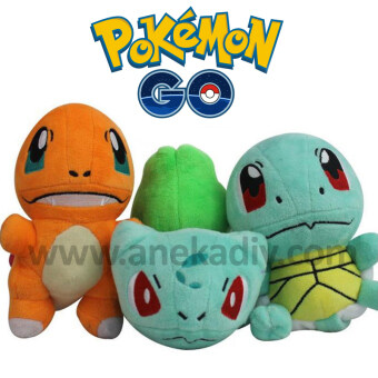 Harga Pokemon Go - Squirtle Plush Soft Doll Toy