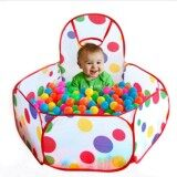 Portable Kids Child Ocean Ball Pit Pool Play Tent for Baby Indoor Outdoor Game Toy(Big Size)