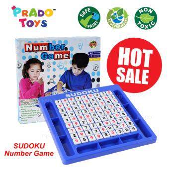 PRADO Sudoku Numbers Games Education Board Puzzle Game Set ToysKids