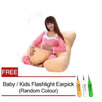 PREMIUM Quality Maternity U Shape Pregnancy Pillow Support FeedingBaby Training FREE Earpick