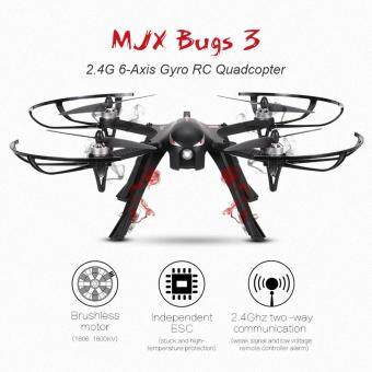 Harga Profession Drones MJX B3 Bugs 3 RC Quadcopter Brushless 2.4Ghz 4CH6-Axis Gyro with gimbal &camera holder RC Drone Super Big guy