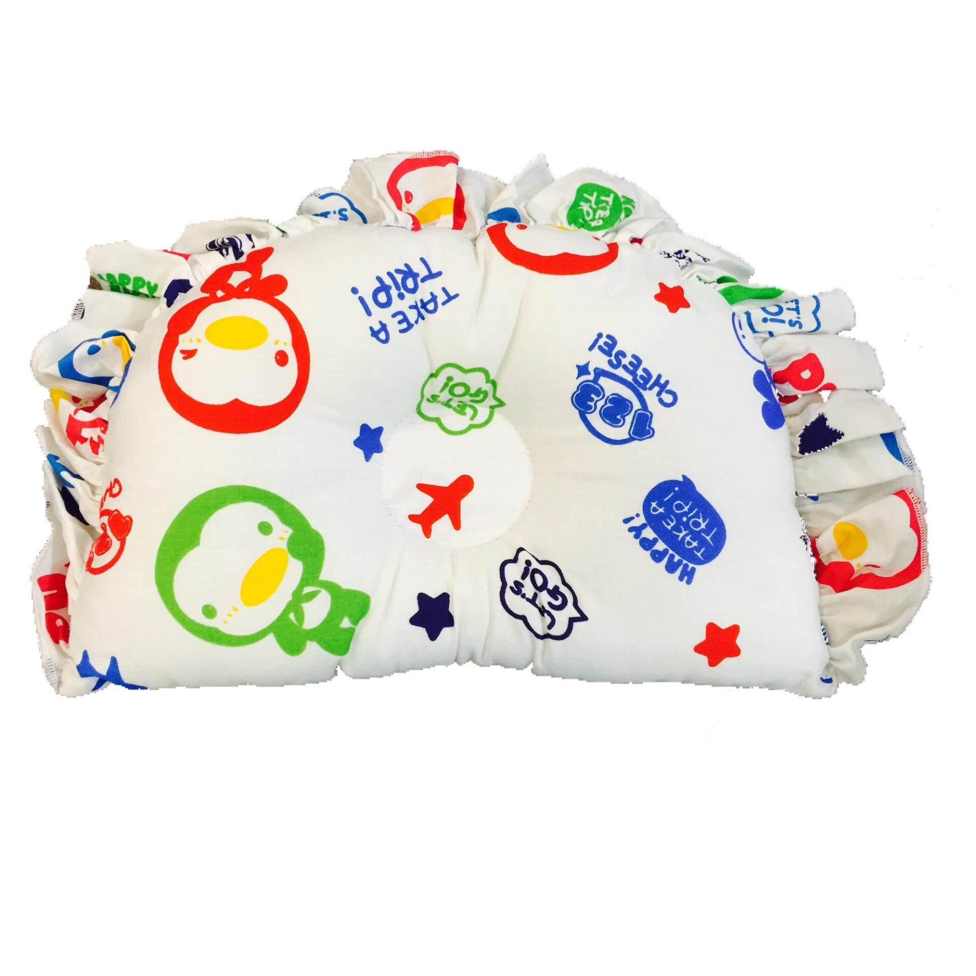 PUKU 100% Cotton Hollow Pillow SP91124 BLUE Holiday Design
