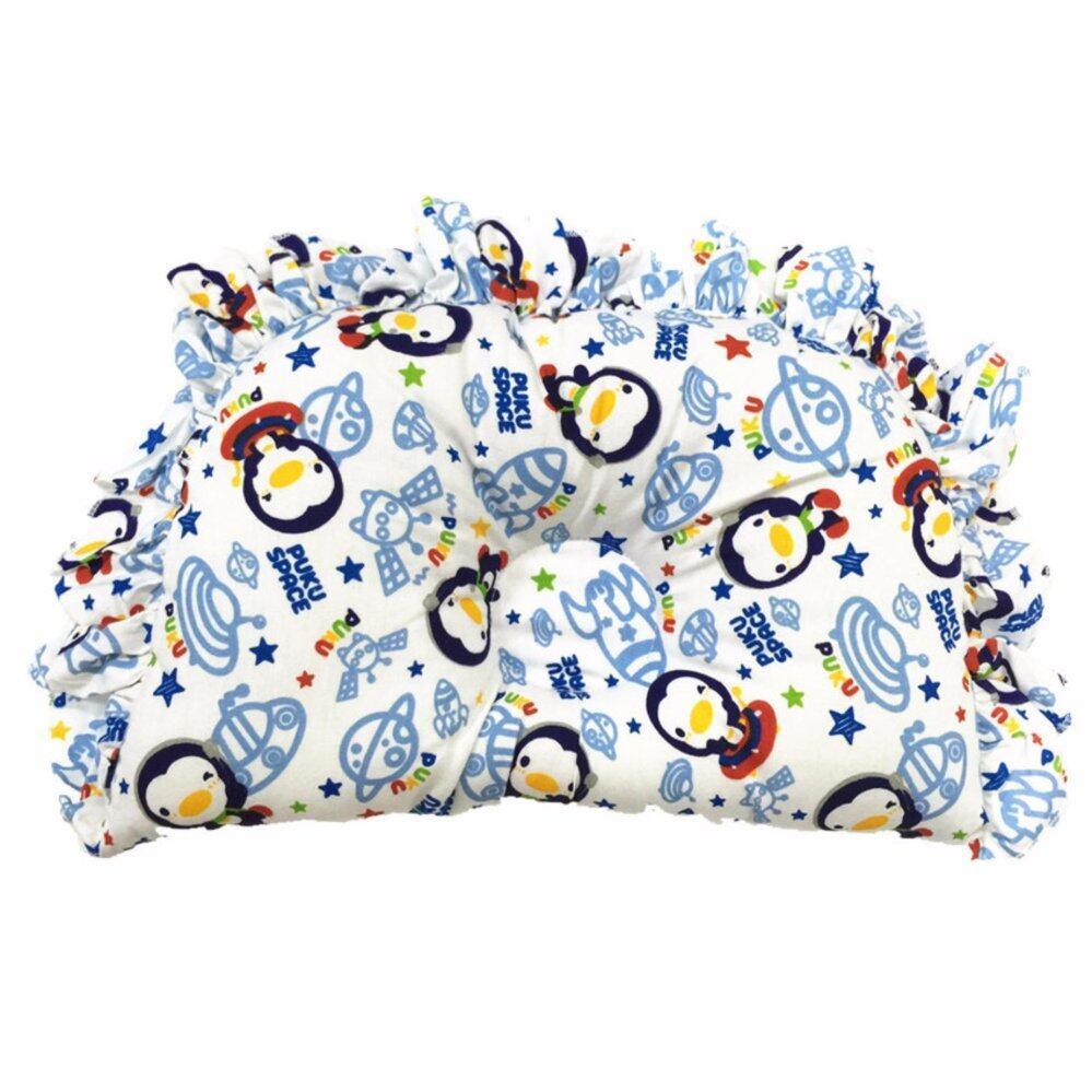 PUKU 100% Cotton Hollow Pillow SP91124 Space Design
