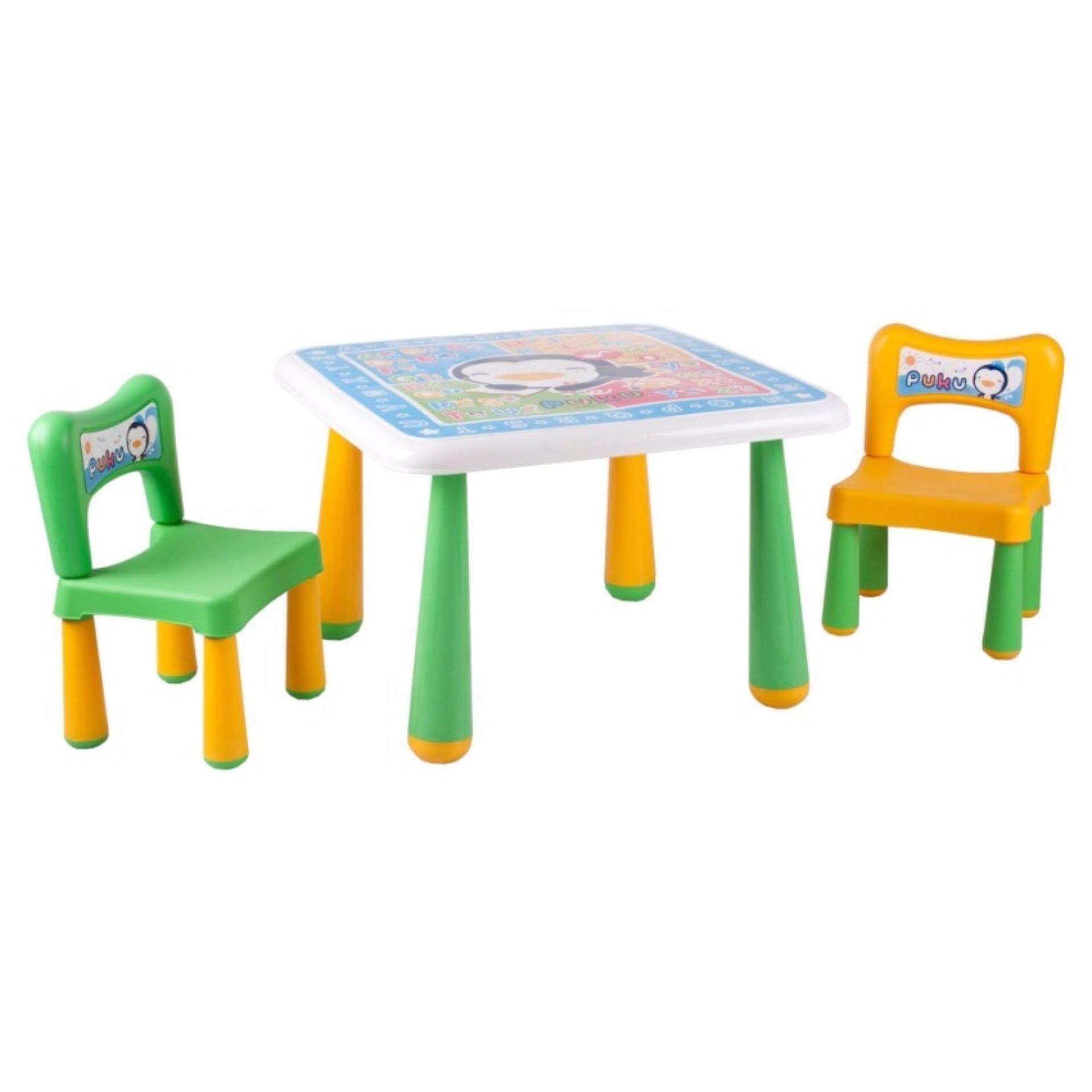 Puku Big Table & Chair Set P30502