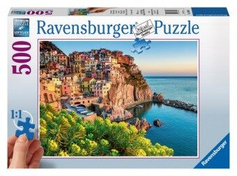 Ravensburger five and other landscape puzzle