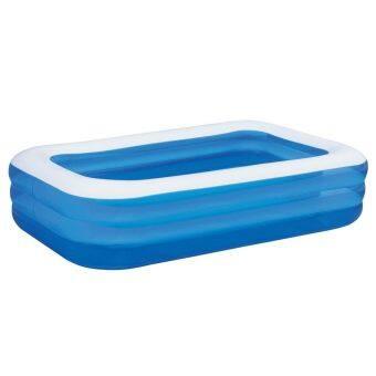 rectangular inflatable family pool