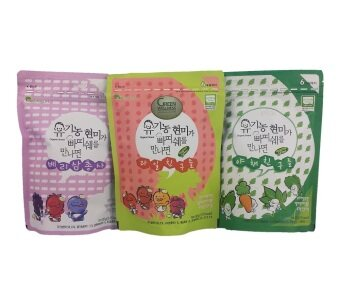 Harga Renewallife Organic Korean Baby Snack Patissier (3 varieties)