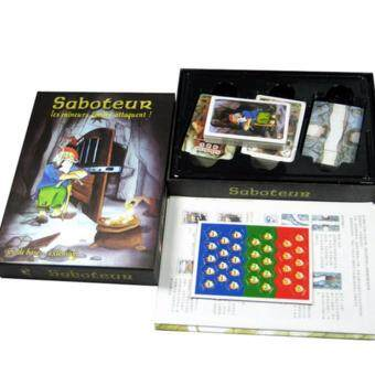 Saboteur Board Game 1+2 Version Jeu De Base+Extension Board Game with English Instructions Family Board Christmas Party Game