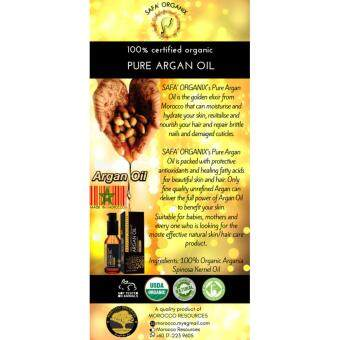 Safa' Organix Pure Argan Oil Made in Morocco (30ml)