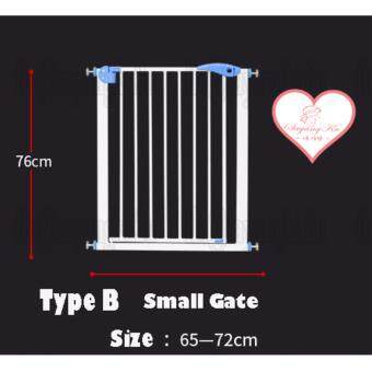 [SayangKu] Type B BP008 Premium Baby gate Safety Door gate Easy Step Walk Thru Gate Extensions