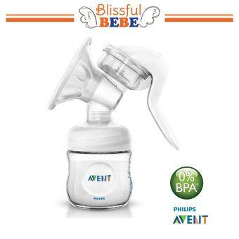 Harga SCF330/20 Philips Avent Natural Manual Breast Pump Standard -STANDARD