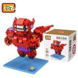 Set of 2 Cute Baymax Loz Nano/Diamond Block Figure [Birthday Gift/DIY]